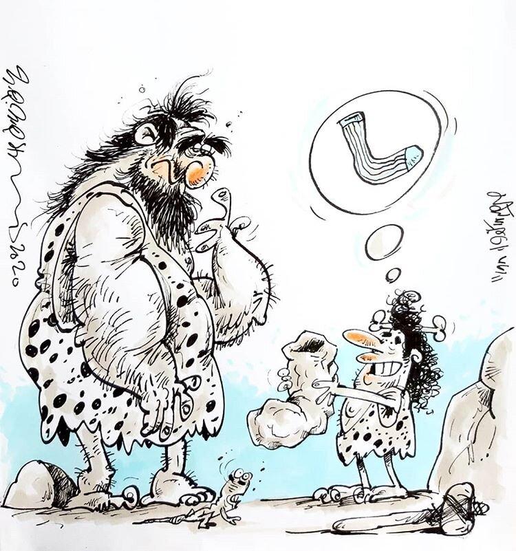 جوراب سنگی، اولین کادوی روز پدر!
