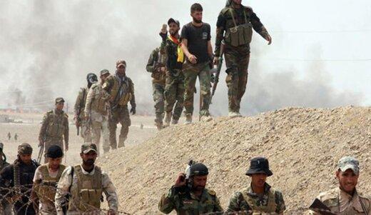 «الحشدالشعبی» تونلهای داعش در دیالی عراق را تخریب کرد