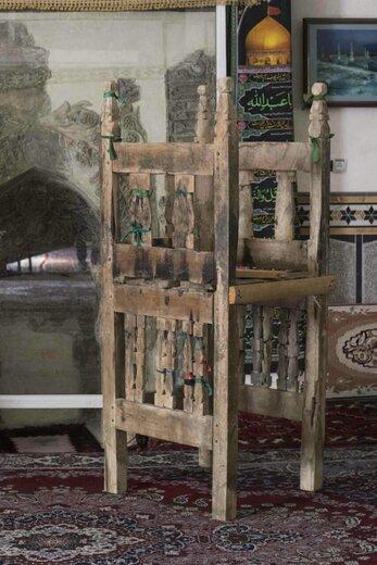 ثبت منبر چوبی دوره ایلخانی در فهرست آثار ملی کشور