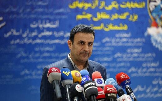 صف بلند کاندیداهای انتخابات شورای شهر در روز اول ثبتنام ها