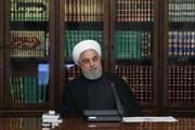 الرئيس روحاني يؤكد على تكريس كافة الجهود للحد من تداعيات كورونا في البلاد