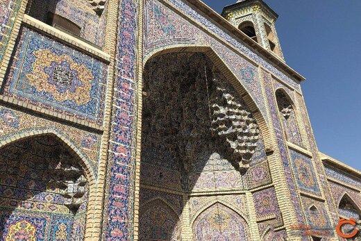 از نصیرالملک یکی زیباترین مسجد های ایران چه می دانید؟ +تصاویر