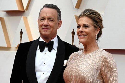 عکس | نخستین تصویر از تام هنکس و همسرش در قرنطینه
