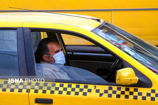 کاهش ۵۰ درصدی تردد خودروها در تهران با شیوع کرونا