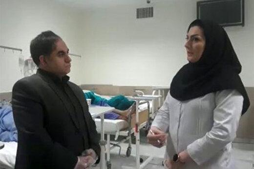 ببینید | گزارش خبرگزاری فارس از بیمارانی که برای مصرف الکل تقلبی در بیمارستان بستری شدهاند!