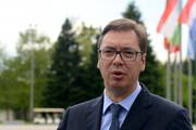 ببینید | سرفههای ممتد رئیس جمهور صربستان در کنفرانس خبری