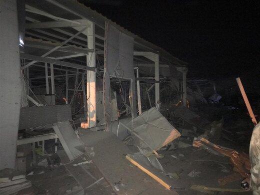 حملات موشکی به عراق
