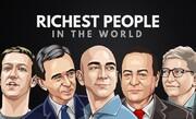 ثروتمندترین مردان جهان چقدر از ثروتشان را از دست دادند؟