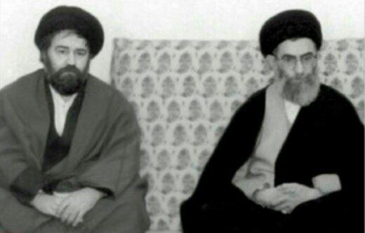تصویری کمتر دیده شده از رهبر انقلاب و سیداحمد خمینی