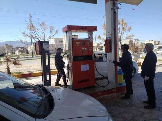 پرداخت نقدی هزینه بنزین  در دو استان ممنوع شد