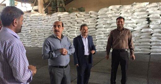 بازدید مدیر استان از انبارهای شرکت خدمات حمایتی استان البرز