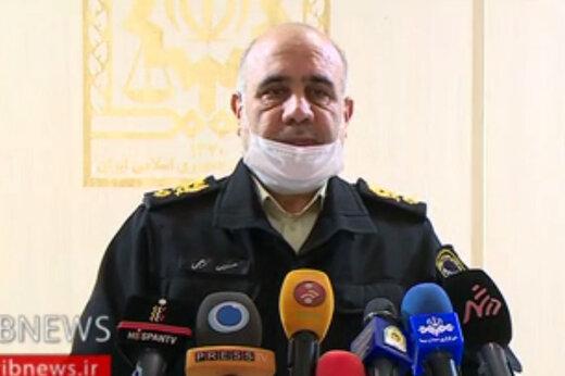 ببینید | آمار نجومی رئیس پلیس تهران از ماسکها و مواد ضدعفونی احتکارشده که با عملیات پلیسی ضبط شدند