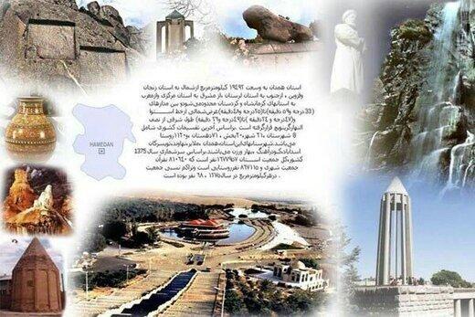 ۷ اثر فرهنگی و تاریخی استان همدان در فهرست آثار ملی ایران ثبت شد