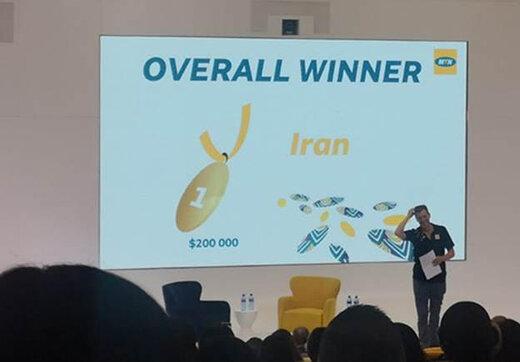 ایرانسل برنده جایزه اصلی رقابت گروهMTNشد