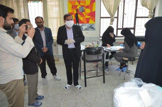 بازدید «نماینده منتخب بویراحمد ،دنا و مارگون از ۳ کارگاه تولید ماسک در یاسوج + تصاویر