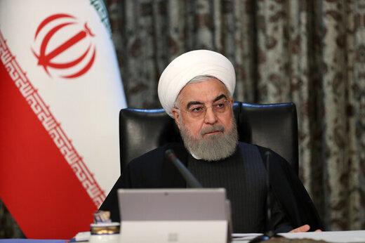 روحاني يؤكد : سنبذل قصارى جهدنا لتلبية حاجة المستشفيات الى الاجهزة الطبية