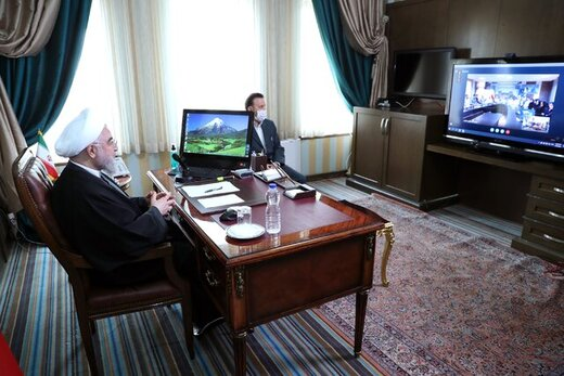 Rouhani: Gov't standing by medical personnel to combat coronavirus