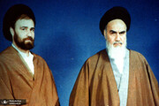 ۲ تصویر کمتر دیده شده از سیداحمد خمینی در کنار رهبر انقلاب و آیت الله هاشمی