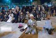 ببینید | تجمع مخالفان بسته شدن حرم حضرت معصومه(س)