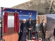 ببینید | واکنش روحانی به تعطیلی حرمهای متبرکه به خاطر کرونا در مراسم افتتاح امتداد اتوبان همت به کرج
