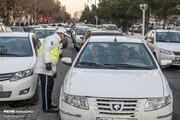 ترافیک سنگین در آزادراه تهران-قم/ محورهای ۶ استان بارانی است