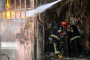 دومین بیمارستان تاریخی ایران در آتش سوخت