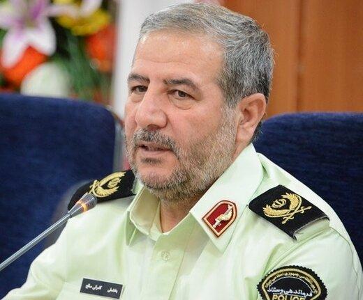 فرمانده پلیس استان: بیش از ۱۳۶ هزار عدد انواع مواد محترقه در همدان کشف شد