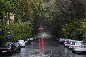 هوای هرمزگان روزهای ابتدایی سال جدید بارانی میشود