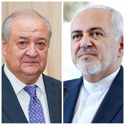 گفتگوی تلفنی وزرای خارجه ایران و ازبکستان