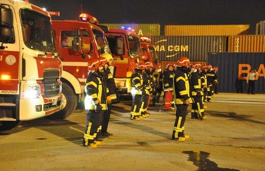 وقوع ۸۴ مورد عملیات آتش نشانی در پایتخت