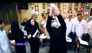ببینید | آوازخوانی خواننده سرشناس پاپ در یکی از مراکز اصلی مبارزه با کرونا در تهران!