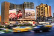 عکس | دیوارنگاره جدید میدان ولیعصر (عج)