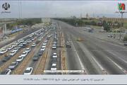 تصاویر | آخرین وضعیت جادهها روی دوربینهای مدار بسته؛برای جانخود هم در خانه نمیمانید؟