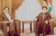 تصویری دیده نشده از وزیر اطلاعات در کنار سیدحسن نصرالله