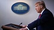 ببینید | ادعای ترامپ درباره قصد ایران برای عملیات علیه امریکا در عراق و گروکشی با کرونا