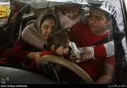 تصاویر | کنترل و مهار ویروس کرونا در عوارضی تهران - قم در یک روز پر ترافیک