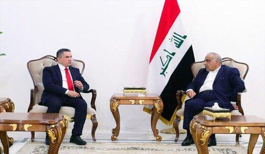 در دیدار نخستوزیر مکلف عراق با عبدالمهدی و الحلبوسی چه گذشت؟