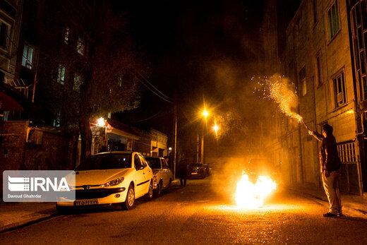 چهارشنبه سوری ۷۰ مغازه در تهران را گرفتار انفجار و آتشسوزی کرد