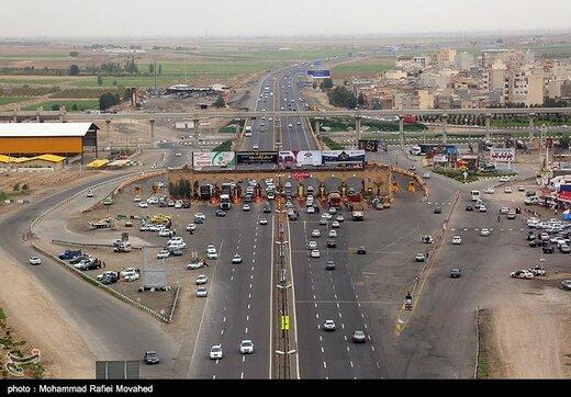 توضیحات پلیس درباره تصویر ترافیک سنگین در عوارضی تهران ـ قم