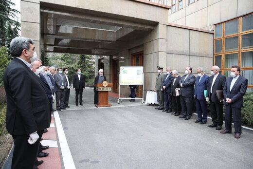 روحانی:در موضوع کرونا با مردم صریح بودیم /افتتاح طرحهای عظیم، سیلی به آمریکاست