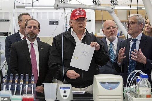 ترامپ: عبارت ویروس چینی برای پکن لکه ننگ نیست!
