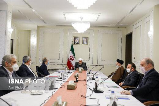 جلسه سران قوا با روسای کمیتههای اصلی ستاد ملی مقابله با ویروس کرونا