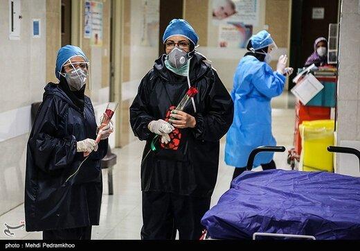 سفره هفت سین در بیمارستان رازی شهر اهواز