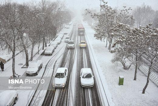 هشدار هواشناسی نسبت به بارش برف در ۱۳ استان