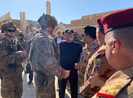 خروج ائتلاف بینالمللی از پایگاه نظامی عراق