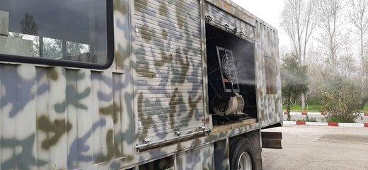 ببینید | رزمایش مقابله با جنگ بیولوژیک سپاه در اهواز