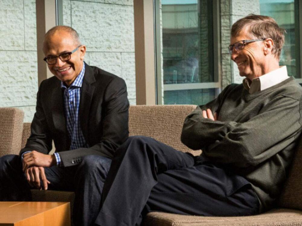 بیل گیتس، مدیرعامل سابق مایکروسافت!