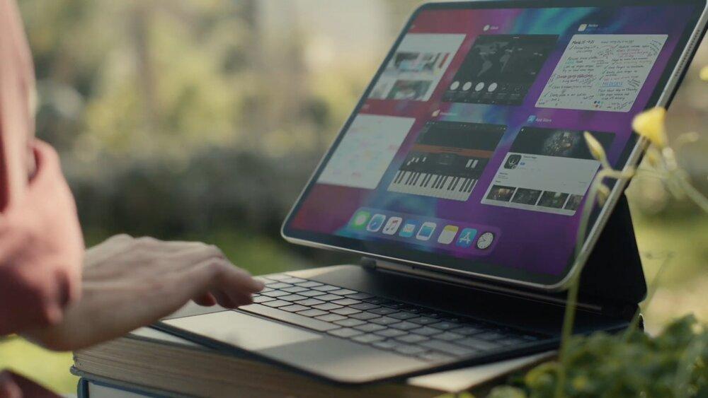 اپل iPad Pro جدید با مجیک کیبورد رونمایی شد.