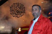 عکس | فرمانده آتش نشانی تبریز که بر اثر کرونا جان باخت