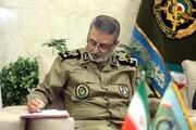 تشکر فرمانده کل ارتش از رهبر انقلاب